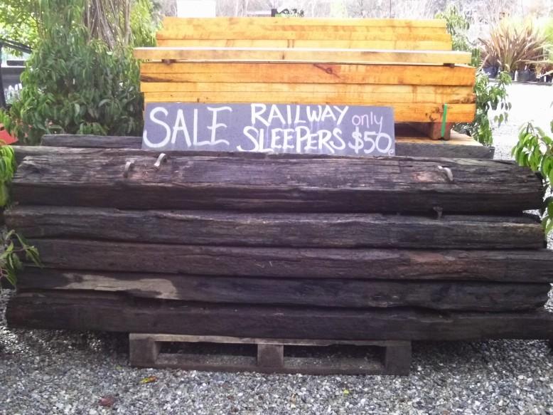 Railway Sleepers only $50!!